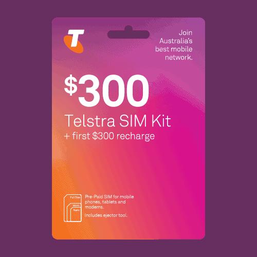 Telstra $300